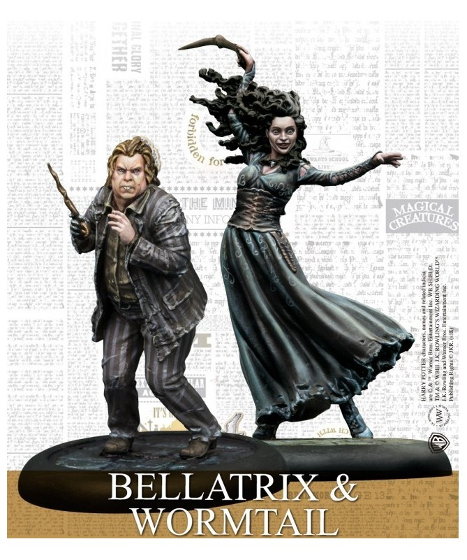 Harry Potter - Bellatrix and Wormtail