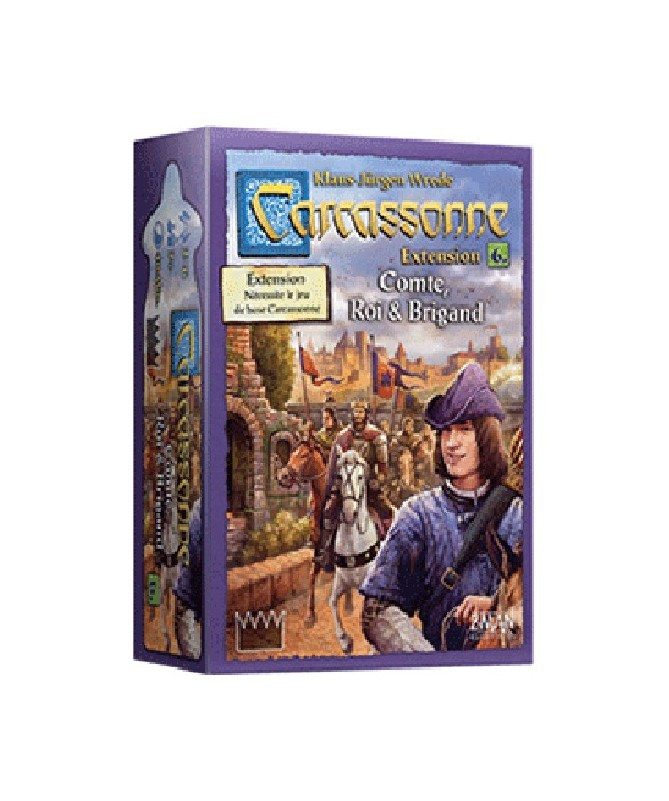 • Carcassonne : Comte, Roi et Brigand (Extension)