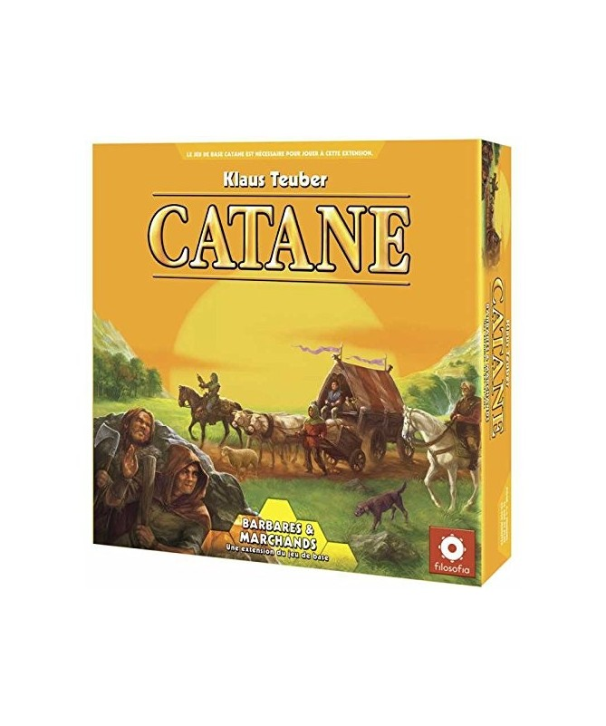 • Catan : Barbares et Marchands (Extension)