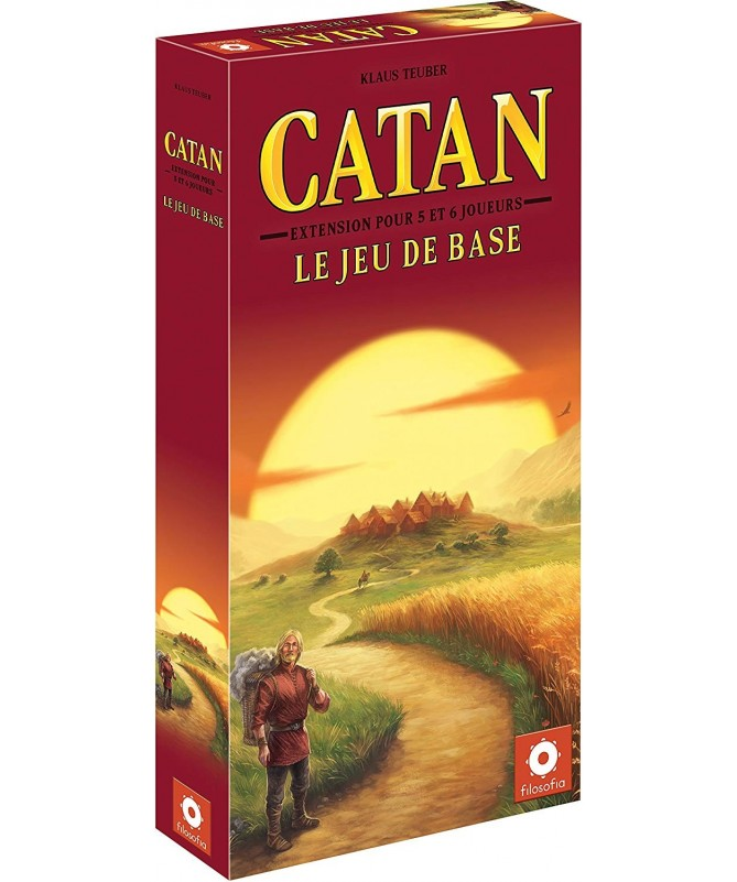 • Catan : 5/6 joueurs  (Extension)