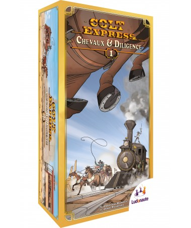 • Colt Express : Chevaux et Dilligence (Extension)
