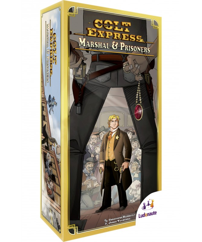 • Colt Express : Marshall et Prisonnier (Extension)